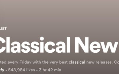 Spotify:Classical New Releases