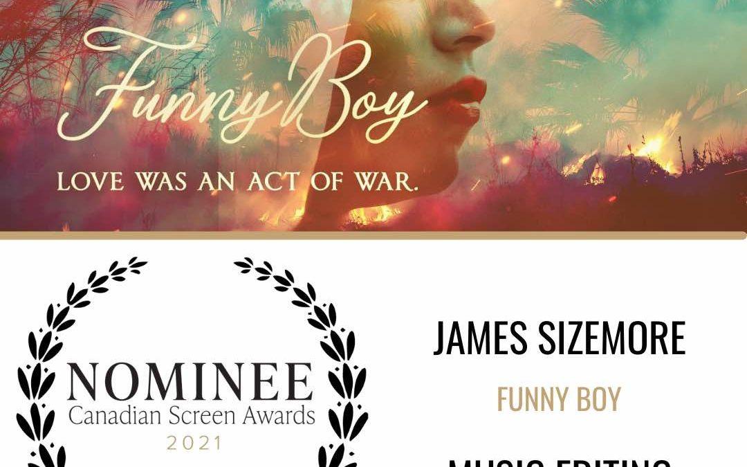 Canadian Screen Awards Nomination